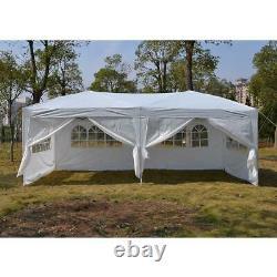 3Mx6M Heavy Duty Gazebo Pop Up Waterproof Marquee Canopy Garden Patio Party Tent