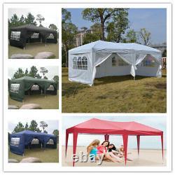 3×6M/3x3M Gazebo Heavy Duty Pop Up Marquee Market Party Garden Canopy Patio Tent