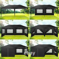 3mx6m Gazebo Marquee Waterproof Outdoor Garden Patio Canopy Wedding Party Tent