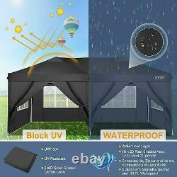 3mx6m Gazebo Marquee Waterproof Outdoor Garden Patio Canopy Wedding Party Tent A
