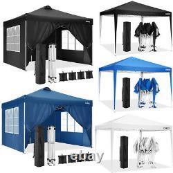 3x3M Gazebo Marquee Waterproof Heavy Duty Garden Patio Party Tent Sun Canopy NEW