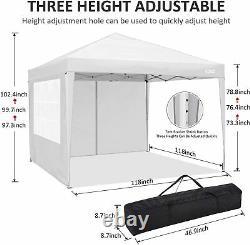 3x3M Gazebo Pop Up Tent Waterproof Garden Patio Party Tent Canopy Commercial UK