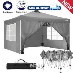 3x3M Gazebo Strong Waterproof Marquee Garden Patio Party Tent Canopy Outdoor UK