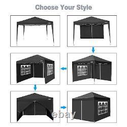 3x3M Gazebo Waterproof Strong Heavy Duty Garden Patio Party Tent Canopy Outdoor
