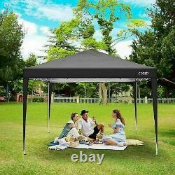 3x3M Pop Up Gazebo Canopy Marquee Strong Waterproof Outdoor Garden Patio Tent UK
