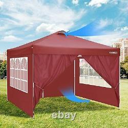 3x3M Pop-up Gazebo Waterproof Marquee Garden Wedding Patio Canopy Tent Outdoor