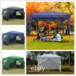 3x6M/3x3M Gazebo Heavy Duty Marquee Canopy Waterproof Garden Patio Party Tent UK