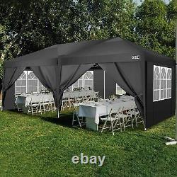 3x6M Heavy Duty Gazebo Marquee Canopy Waterproof Outdoor Garden Patio Party Tent
