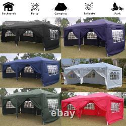 3x6M Heavy Duty Gazebo Marqueen Waterproof Garden Patio Party Market Sun Canopy