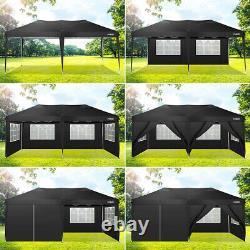 3x6M Heavy Duty Gazebo Waterproof Pop up Marquee Garden Party Patio Tent Canopy