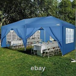 3x6m Waterproof Gazebo Marquee Outdoor Garden Patio Canopy Wedding Party Tent UK