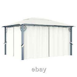 4X3M Metal Gazebo Garden Patio Marquee Canopy Shelter Outdoor Pavilion Sun Shade