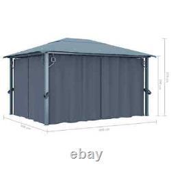 4X3 M Waterproof Gazebo Marquee Patio Canopy Tent Shelter Outdoor Heavy Duty UK