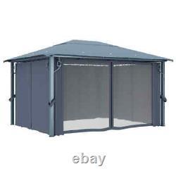 4X3 M Waterproof Gazebo Outdoor Marquee Patio Canopy Tent Shelter Heavy Duty