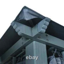 4X3 M Waterproof Gazebo Outdoor Marquee Patio Canopy Tent Shelter Heavy Duty New