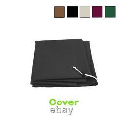 Aluminium 3M Large Round Garden Parasol Canopy Patio Sun Shade Umbrella Cover
