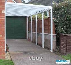 Aluminium Canopy, Carport, Patio or Caravan Cover 1.5m -3m Projection