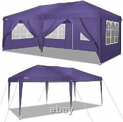 COBIZI 3mx6m Waterproof Garden Gazebo Patio Party Tent Marquee Canopy Heavy Duty