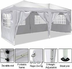 COBIZI 3x6M/3x3M Gazebo Heavy Duty Marquee Garden Party Patio Canopy Pop Up Tent