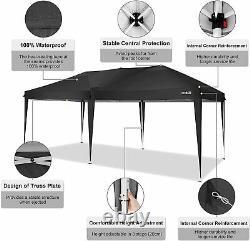 COBIZI 3x6M Heavy Duty Gazebo Marquee Canopy Wedding Garden Patio Party Tent Top