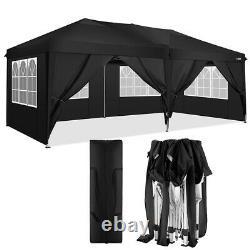 COBIZI 3x6M Heavy Duty Gazebo Marquee Canopy Wedding Garden Patio Party Tent UK
