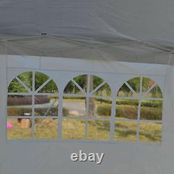 COBIZI GAZEBO HEAVY DUTY WATERPROOF TENT MARKET STALL 3x6M POP UP PATIO CANOPY