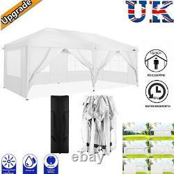 Garden Gazebo White Party Shelter Tent Patio Shade Outdoor Sun Canopy 3x6m White