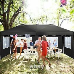 Gazebo 3x6M/3x3M Heavy Duty Marquee Garden Party Patio Canopy Waterproof Tent UK