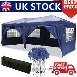Gazebo 3x6M Waterproof Pop Up Tent Marquee Canopy Patio Wedding Garden Party NEW