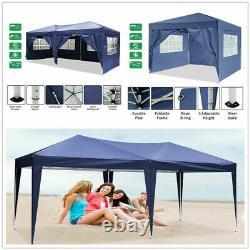 Gazebo Heavy Duty Pop Up Marquee Market Party Garden Canopy Patio Tent 3x3M/3×6M