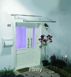Palram Aquila 1500 & 2050 Door Canopy, Outdoor Porch Shelter, Patio Cover