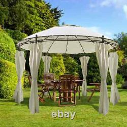 Patio Gazebo with Curtain Garden Marquee Pavilion Tent Sides Canopy Various Type