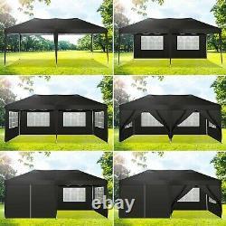 Pop Up Gazebo 3x6M Heavy Duty Waterproof Marquee Party Garden Patio Tent Canopy