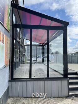 Weinor Glass Room-veranda-canopy-pod-patio-conservatory-roof-awning-aluminium