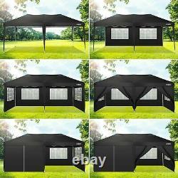 3×6m/3x3m Gazebo High Duty Pop Up Marquee Market Party Garden Canopy Patio Tent