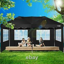 3m X 6m Heavy Duty Gazebo Sun Canopy Marqueen Waterproof Garden Patio Party