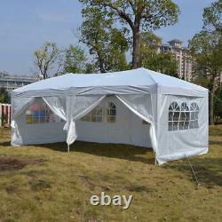 3mx6m Heavy Duty Gazebo Pop Up Waterproof Marquee Canopy Garden Patio Party Tente