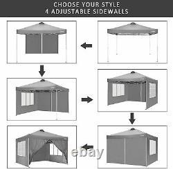 3x3m Gazebo Fort Étanche Marquee Garden Patio Party Tente Canopy Outdoor Uk