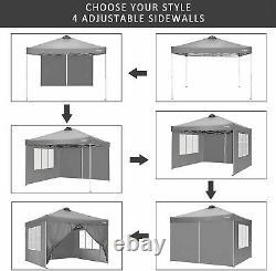 3x3m Gazebo Marquee Fort Waterproof Outdoor Garden Patio Party Tente Canopy Uk