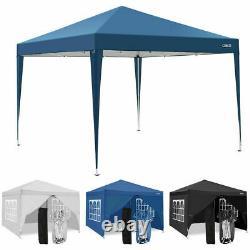 3x3m Gazebo Marquee Forte Étanche Jardin Patio Party Tente Canopy
