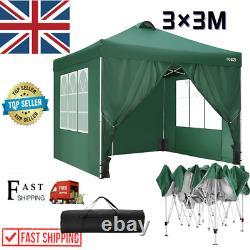 3x3m Gazebo Marquee Strong Waterproofjarden Patio Party Tente Canopy Outdoor Nouveau