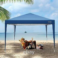 3x3m Gazebo Pop Up Marquee Forte Étanche Jardin Party Patio Tente Canopy Bleu