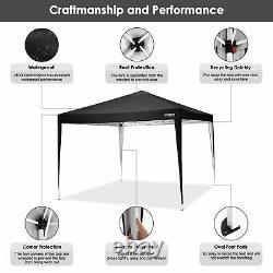 3x3m Pop Up Gazebo Marquee Forte Etanche Jardin Patio Party Tente Canopy Nouveau