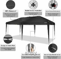 3x6m Heavy Duty Gazebo Canopy Marquee Waterproof Garden Outdoor Patio Party Tente