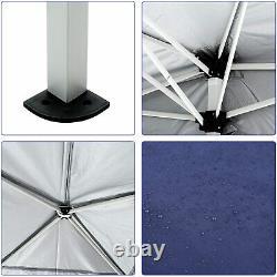 3x6m Heavy Duty Gazebo Mit Sides Marquee Canopy Waterproof Patio Party Tente Bleue