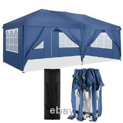 3x6m Lourd Gazebo Bbq Canopy Waterproof Garden Patio Party Tente 4 Côtés