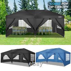 3x6m Party Tente Marquee Gazebo Garden Patio Mariage Canopy Waterproof Heavy Duty