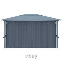 4x3 M Imperméable À L'eau Gazebo Extérieur Chapiteau Extérieur Patio Canopy Tent Shelter Heavy Duty