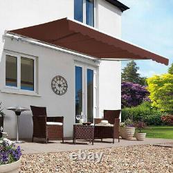 Auvent Canopy Garden Patio Sun Shade Shelter Rétractable De Qualité Commerciale Porc