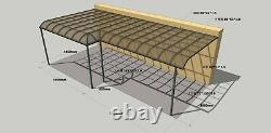 Bespoke Design Canopée En Aluminium Haut De Gamme, Alfresco, Couvercle De Canopée De Jardin Patio